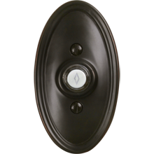 Oval Doorbell Button