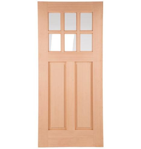 Rejuvenation for 6 lite exterior door