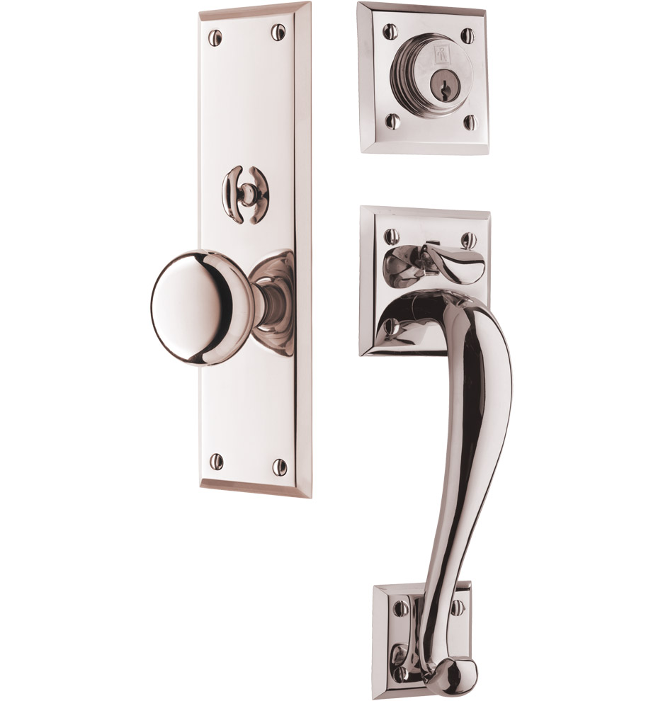 Coleman classic knob exterior door set rejuvenation for Exterior door handle and lock set