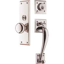 Putman Exterior Mortise Door Set