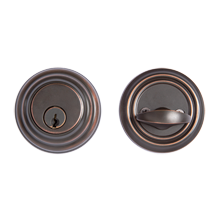 Low-Profile Single-Cylinder Deadbolt