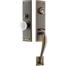 Davis Exterior Mortise Door Set