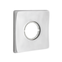 Wide Square Exterior Escutcheon