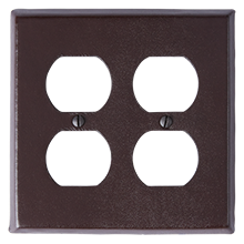Kennaston Double Duplex Coverplate