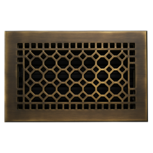 "Brass 6"" x 10"" Register"
