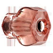 1-1/4in. Hex Glass Knob