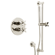 West Slope Thermostatic Shower Set with Handheld