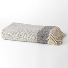 Wool Mended Tweed Throw
