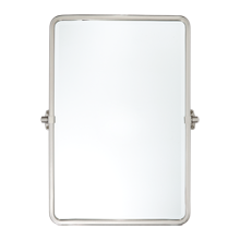Tolson Rounded Rectangle Pivot Mirror - Small