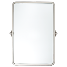 Tolson Rounded Rectangle Pivot Mirror - Large