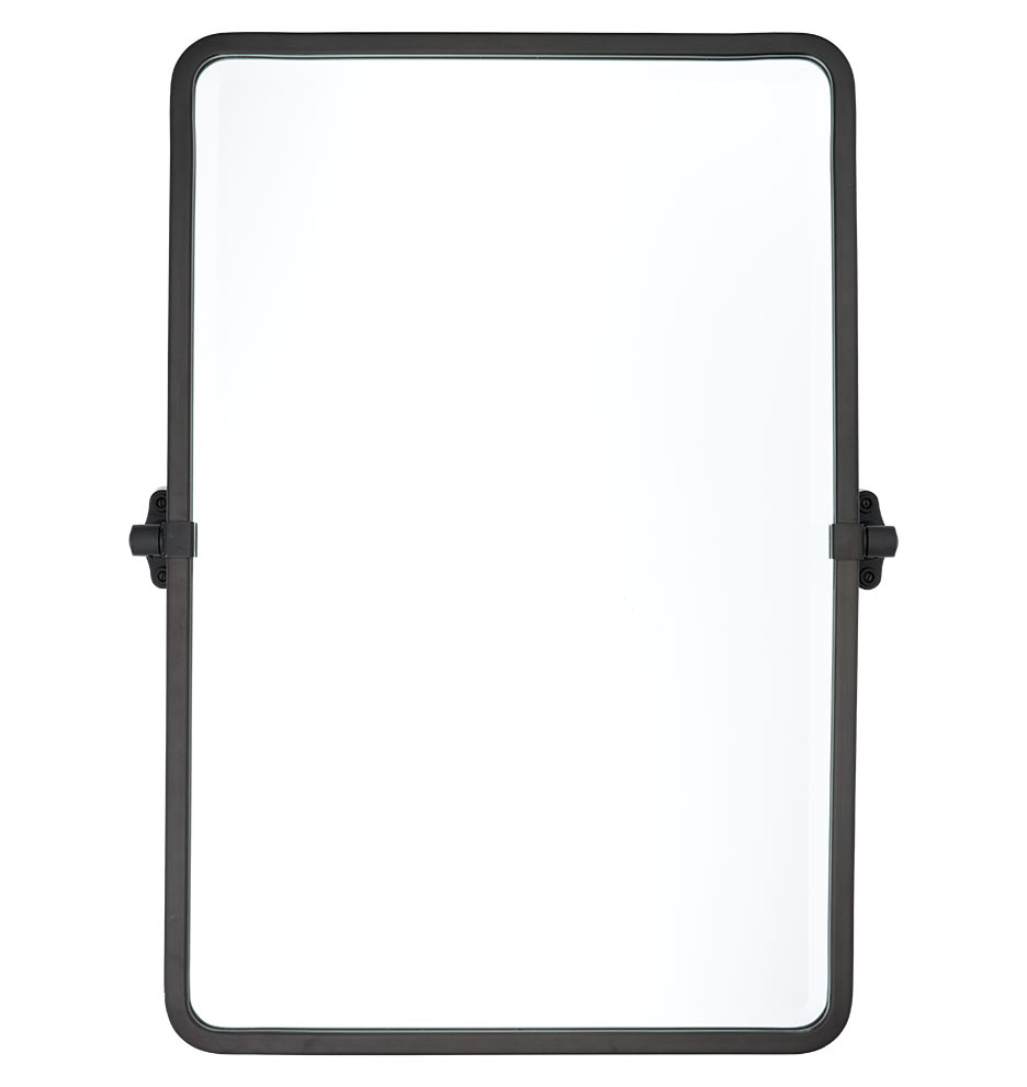Tolson Rounded Rectangle Pivot Mirror