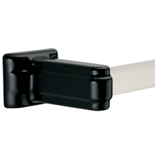 Chandler Towel Bar- Black Porcelain