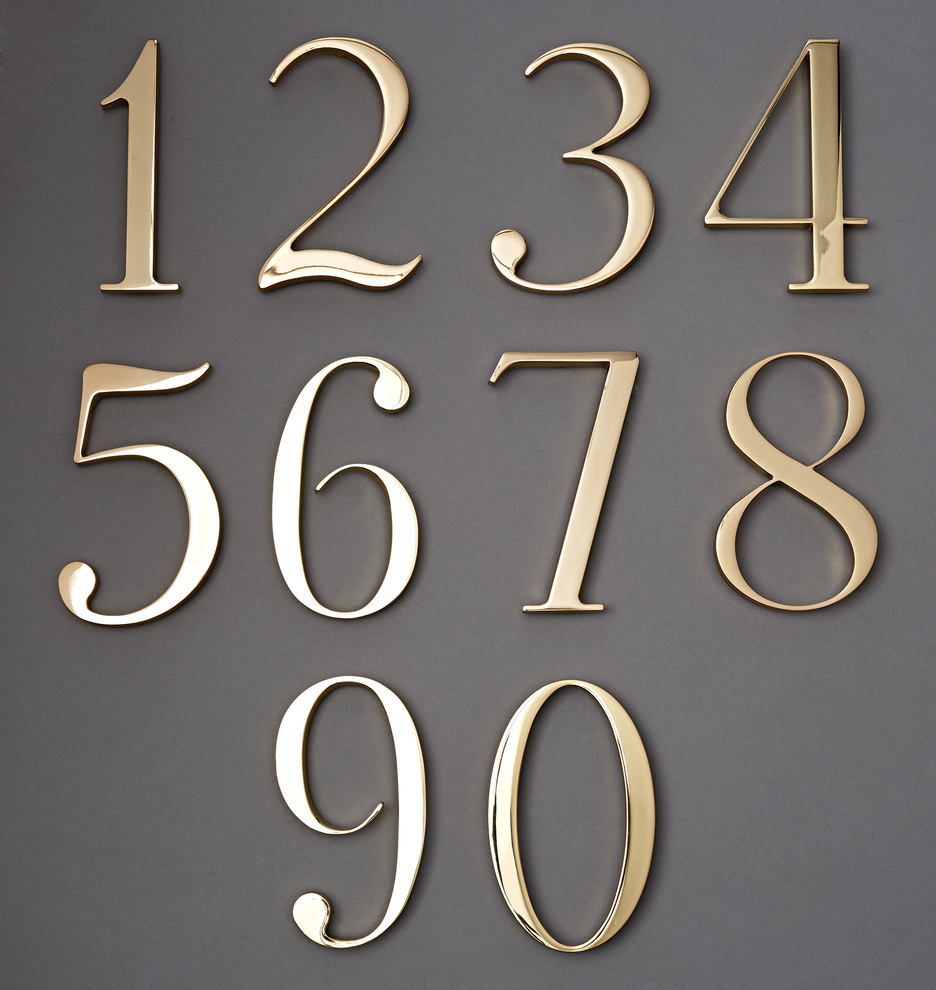 Traditional house numbers rejuvenation for House numbers
