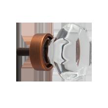 Octagon Glass Cabinet Knob