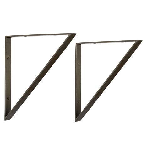 Triangle Shelf Brackets Rejuvenation
