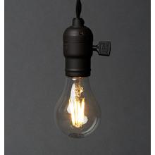 LED Filament A19 6.5W Clear Bulb