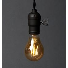 Filament LED A19 Amber Bulb