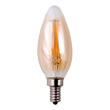 Filament LED B11 Amber Bulb - 3 Pack