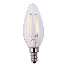 Filament LED B11 Bulb - 3 Pack