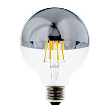 Filament LED G25 Chrome Tip Bulb