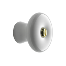 1-1/4in. Porcelain Knob