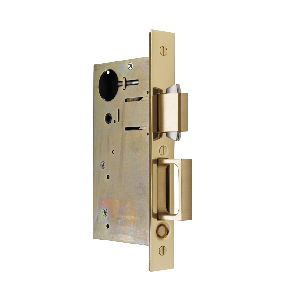 Privacy Pocket Door Hardware pocket door privacy mortise kit | rejuvenation