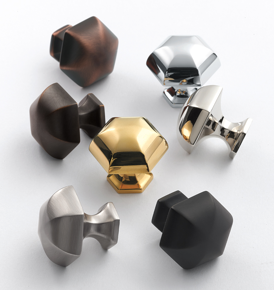 Hexagon Cabinet Knob | Rejuvenation