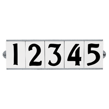 Tile House Number Set