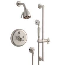 Rollins Pressure Balanced Shower Set With Handheld