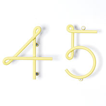 NakNak Wire House Numbers
