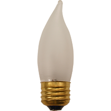 60W Frosted Flame-tip Bulb