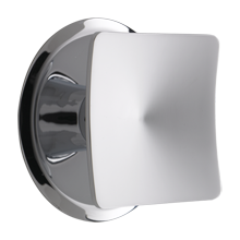Square Cabinet Knob with Round Backplate