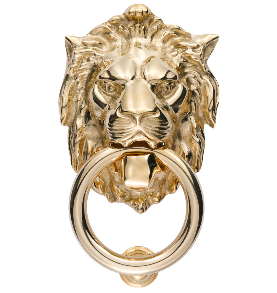Lion Door Knocker Rejuvenation