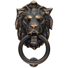 16 results found lion door knocker