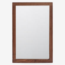 Modern Wood Frame Mirror