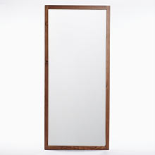 Modern Wood Frame Floor Mirror