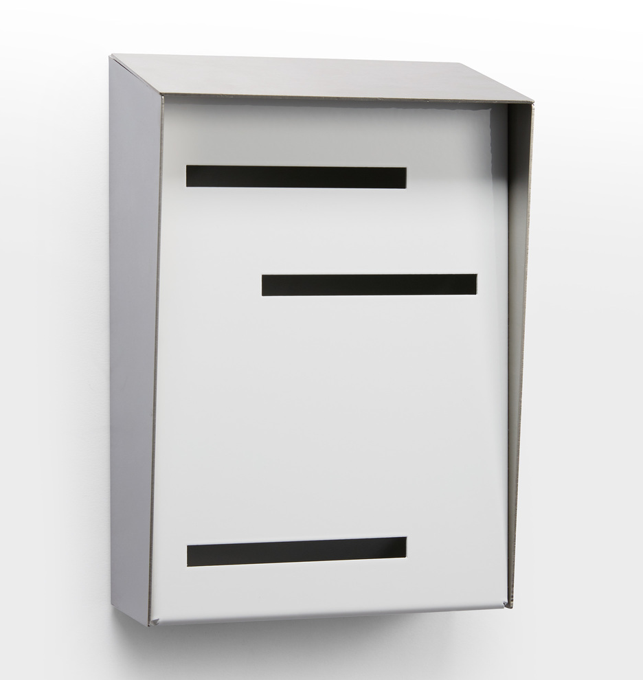 Modern Vertical Wall Mounted Mailbox | Rejuvenation