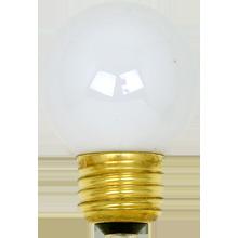 60W G15 White Bulb