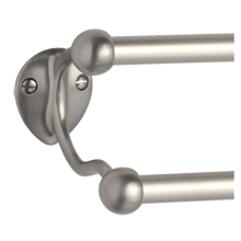 Linfield Double 5/8in. Metal Towel Bar