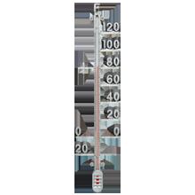 Zinc Rib Thermometer