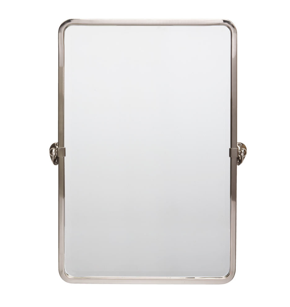 Bathroom mirrors - Linfield Rounded Rectangle Pivot Mirror