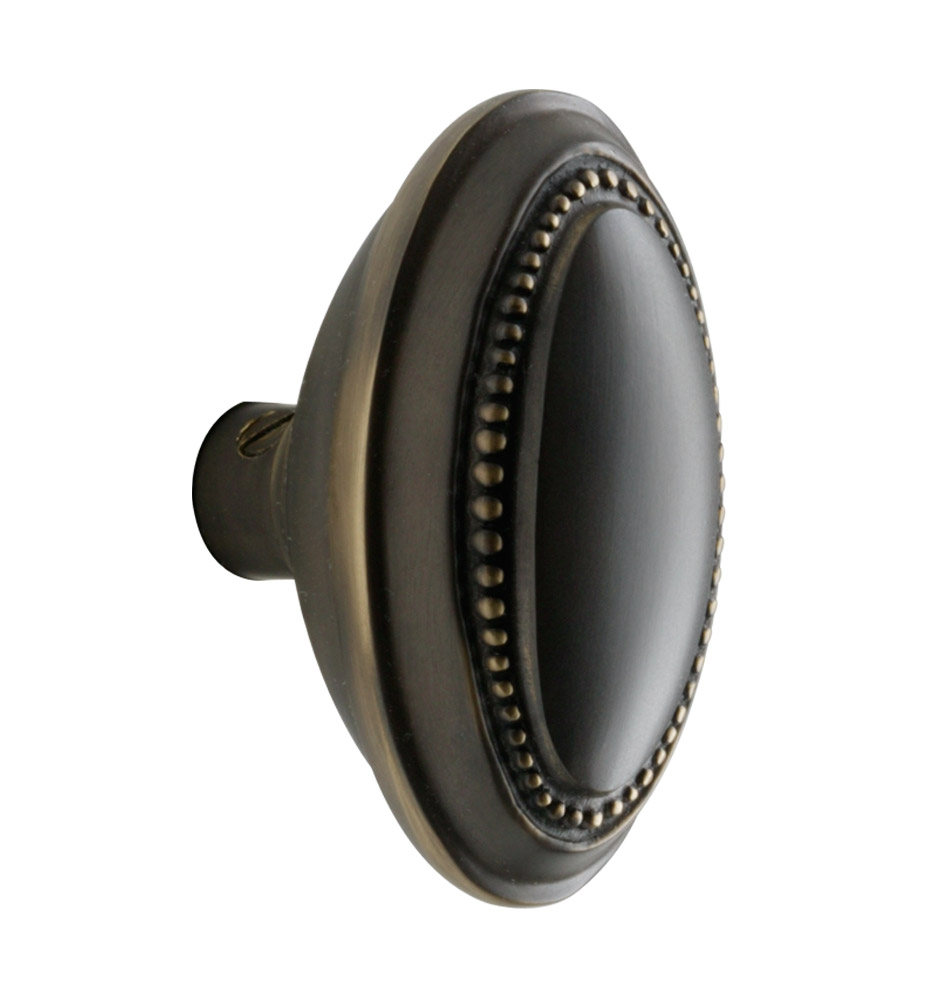 Nice Hardware · Door Parts; Beaded Oval Knob. Z010067