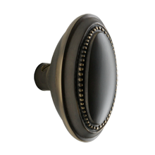 Beaded Oval Knob