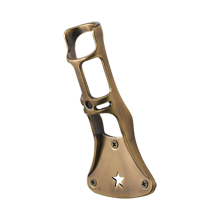 Brass Star Flagpole Holder
