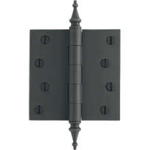4in. Steeple-Tip Hinge