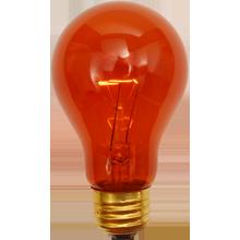 A19 25W Amber Bulb