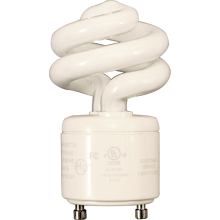 9W Spiral GU24 Bulb