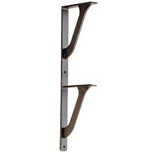 Portland Linear 2-Shelf Bracket - 7.5 in.