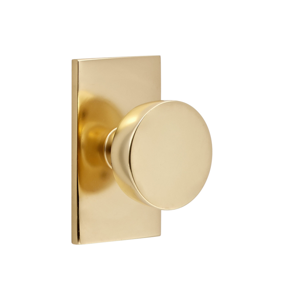 tumalo brass knob interior door set