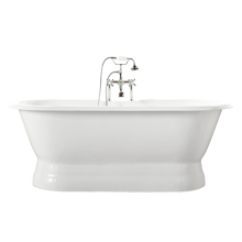 5-1/2' Double-End Pedestal Tub